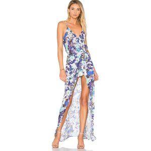 Karina Grimaldi Nantucket Floral Print Dress M